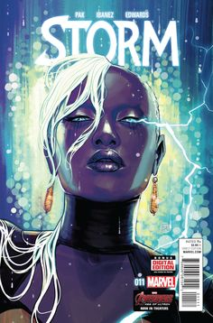 Preview: Storm #11 STORY BY Greg Pak ART BY Victor Ibanez, Neil Edwards COLORS BY Ruth Redmond LETTERS BY VC - Cory Petit COVER BY Stephanie Hans