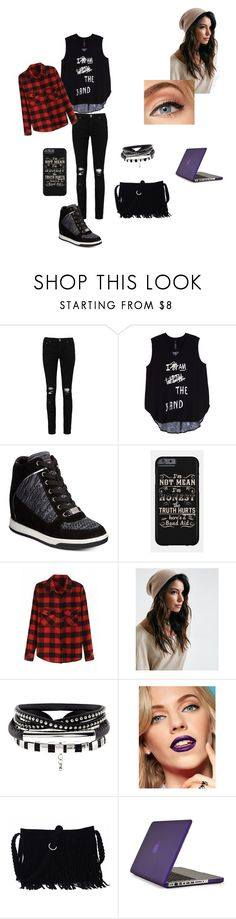 """""""Spy book"""" by isabelle-923 on Polyvore featuring Boohoo, Melissa McCarthy Seven7, Bebe, Speck and plus size clothing"""