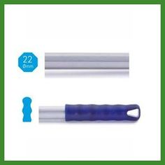 Mangos metálicos octogonales de más resistencia. Modelo de 140cm en Suministros Planas.     Ver detalles en: http://www.tplanas.com/epis/mangos-y-palos/46-palos-metalicos-reforzados-alu-pro-140cm.html