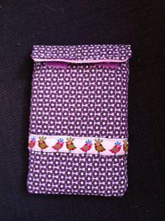 Mein Handytäschchen nach dem Freebook von Klimperklein