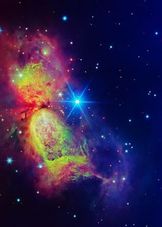 The bipolar star-forming region called Sharpless 2-106. The 'wings' of the nebula record the contrasting imprint of heat and motion against a backdrop of a colder medium. Twin lobes of super-hot gas stretch outward from the central star. This hot gas creates the 'wings.' A ring of dust & gas orbit-ing the star acts like a belt, clinching the expending nebula into an 'hourglass' shape. In Cygnus