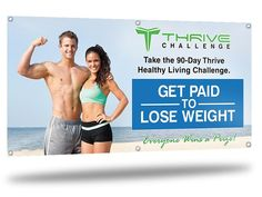 Healthy Living Challenge — Get Paid To Lose Weight #weightloss #fatloss #slimming