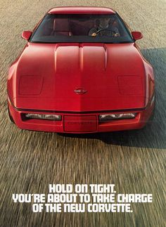 Ad for the1984 - C4 - Introducing the Fourth Generation Corvette! - Corvette Pit Stop Blog