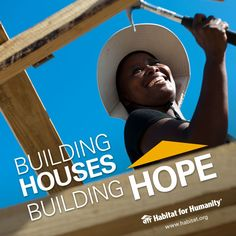 Did you know Habitat builds around the world? Join us as we build houses and hope.