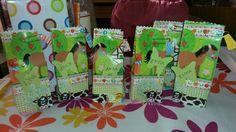 give away bags 4 girlz birthday