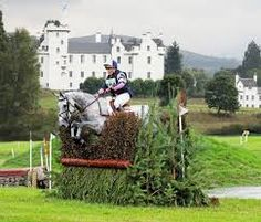 Three day eventing championships at Blair Castle, in Scotland.