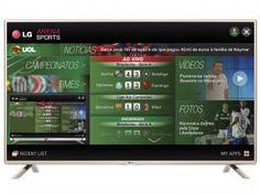"""Confira no Magazine Dufrom esta super oferta - Smart TV LED 42"""" LG 42LF5850 Full HD - Conversor Integrado DTV 3 HDMI 3 USB Wi-Fi - Apenas R$ 1.799,00 ou 10 x R$ 179,90 sem juros no cartão de crédito. Magazine Dufrom, vendendo barato todos os dias!"""