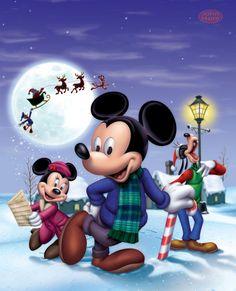 John Hom's Mickey Mouse Christmas