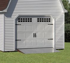 garage doors on barn style opening - Google Search