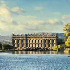 16 Gorgeous Locations From Pride And Prejudice You Can Actually Visit -In the 2005 film version of Pride and Prejudice, the stunning Chatsworth House in Derbyshire provided exterior and interiors for Mr Darcy's swanky mansion at Pemberly. Jane Austen, Oh The Places You'll Go, Places To Visit, Pride & Prejudice Movie, Chatsworth House, Filming Locations, Adventure Is Out There, Winchester, Adventure Travel