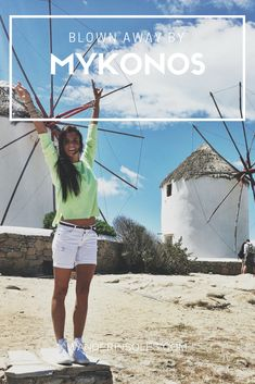 A Day trip to the beautiful Island of Mykonos, Greece