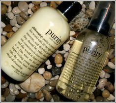 Purity by Philosophy - the only face wash I'll use