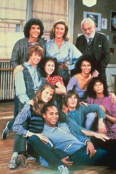 Avant Glee, avant High School Musical, avant S Club il y avait Fame ! Nostalgia, High School Musical, Tv Vintage, 1980s Tv, 1970s, Mejores Series Tv, Debbie Allen, Old Shows, Boy George