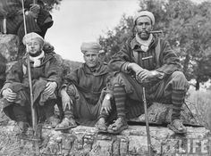 World War II, Italian front, Moroccan Goumiers camped near Monte Cassino Alberto Moravia, Italian Campaign, The Great, Germany And Italy, French Colonial, French Army, Military Diorama, North Africa, World War Two