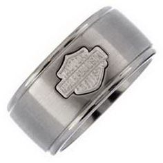find this pin and more on wedding ideas - Harley Davidson Wedding Rings