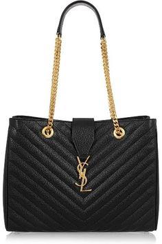 9686dbe194d YSL black bag! Carteira preta! Saint Laurent Handtasche, Yves Saint Laurent  Bags,