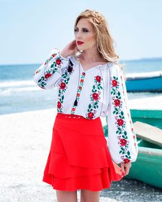 Mexican Style Dresses, Ethnic Fashion, Kimono, Bell Sleeve Top, Costumes, Traditional, Boho, Blouse, Spanish