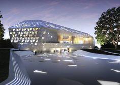 Beethoven Concert Hall - Architecture - Zaha Hadid Architects Bonn, Germany