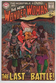 Wonder Woman 184 1st Series 1942 October 1969 DC Comics