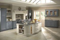 slate color kitchen cabinets | Celtic Heritage Kitchens