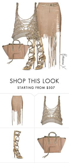 Untitled #3317 by breannamules on Polyvore featuring Aviù, Magda Butrym, Jimmy Choo, CÉLINE and Chanel
