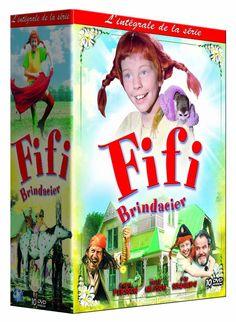 FIFI BRINDACIER EN COFFRET LA SERIE COMPLETE - 21 EPISODES en DVD - NEUF
