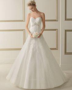 Luna Novias Bridal Gown Style - 161 EspumaBG