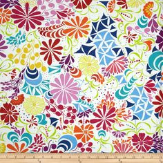 Ashton Road Summer Flowers from Robert Kaufman by Valori Wells by StitchStashDiva on Etsy https://www.etsy.com/listing/250173533/ashton-road-summer-flowers-from-robert