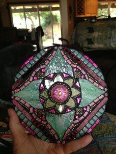 mosaic mandala   Found on etsy.com
