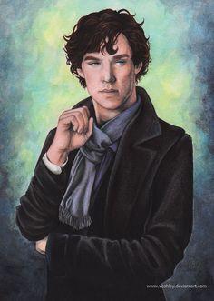 BBC Sherlock Holmes by vashley
