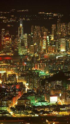 Night Metropolis #iPhone 5s #Wallpaper Download   iPhone Wallpapers, iPad wallpapers One-stop Download