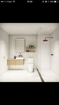 Spacey small bathroom