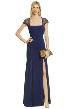 I really want to go somewhere where I can wear THIS!!!  BCBGMAXAZRIA Inevitable Beauty Gown