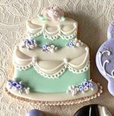 Wedding Cake Cookies, Wedding Cakes, Desserts, Food, Wedding Gown Cakes, Meal, Wedding Pie Table, Deserts, Essen