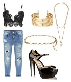 """Future Concert"" by sweeetestgirl on Polyvore featuring Isabel Marant, Brian Atwood, MICHAEL Michael Kors, H&M and Givenchy"