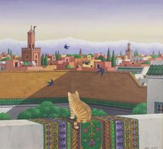 Larry Smart - Rooftops in Marrakesh