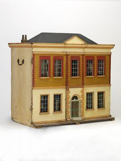The Elkin House, Doll's House made by Cohen, Meyer, England, 1800-1830.