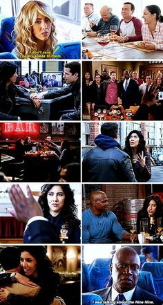 The top right pic looks like one of those stock pictures Brooklyn Nine Nine Funny, Brooklyn 9 9, Best Tv Shows, Best Shows Ever, Movies Showing, Movies And Tv Shows, Andy Samberg, Fandoms, Parks N Rec
