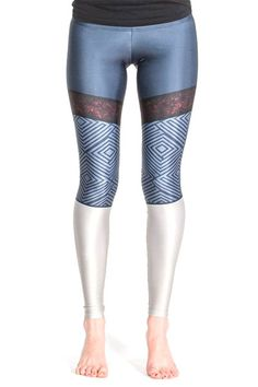The sublimated design of these Cassandra-inspired leggings is vibrant, resists wear, and doesn't give you any weird texture or impede the stretchiness, so you keep your full range of movement, ready for a fight. Cassandra would approve.