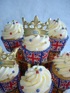 very british cupcakes!
