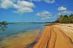 Praia de Santo André, Santo André, Bahia