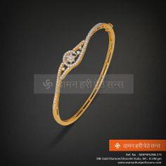 #Classy #Gold #Diamond #Bracelet for you.