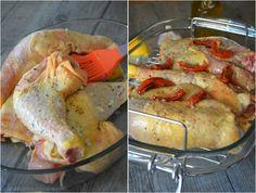 Cuisses de poulet (ail,herbes de provence et tomates confites) grillées... à l'Omnicuiseur Vitalite V6000