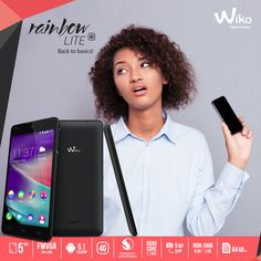 Who has time to wait? Upgrade to 4G speeds with Wiko Rainbow Lite. Available in Safaricom shops countrywide.