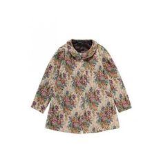 ゴブランコート/an another angelus「F i.n.t ONLINE STORE」 ❤ liked on Polyvore featuring outerwear, coats, jackets, tops, dresses and brown coat