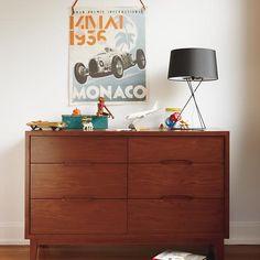 Ellipse 6 Drawer Dresser in Ellipse Collection | The Land of Nod