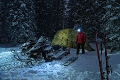 Backcountry Camping in Winter by adventure_photo