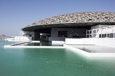 Classical curves: Jean Nouvel's Louvre Abu Dhabi is two steps closer to completion Architecture Design, Architecture Company, Pavilion Architecture, Architecture Wallpaper, Modern Architecture House, Amazing Architecture, Dubai Buildings, Famous Buildings, Jean Nouvel