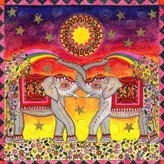 ☮ American Hippie Art ☮ Elephant Chakra Beads, Chakra Art, Reiki Chakra, Chakra Jewelry, Chakra Bracelet, Chakra Stones, Yoga Bracelet, Chakra Healing, Healing Crystal Jewelry