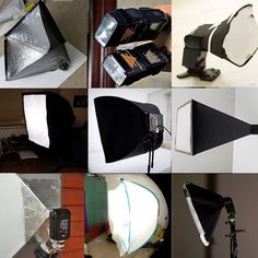DIY 24 photography soft boxes you can make yourself!  To make up for a less-than-ideal photo environment, photographers often rely of soft boxes, which provided color-balanced, even, diffused light, just like the perfect, overcast-y day that makes the best photos. #DIY #Photography